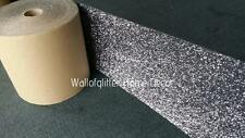 3D Grey Glitter Fabric Self Adhesive Border Wallcovering, Walls,Crafts & Pelmets