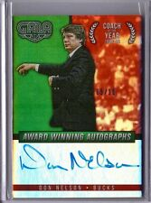 2014-15 Panini Gala Award Winning Autographs Crimson Don Nelson AUTO 05/10