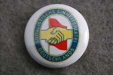 East Germany German Socialist Unity Party SED Communist Pin Badge Button New 1""