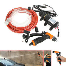 12V 80W High Pressure Self-priming Electric Car Wash Water Pump Car Washer Set