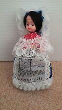 Belle italienne costume poupée excellent état