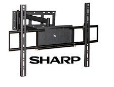 Corner Friendly Full Motion Sharp TV Wall Mount 40 42 50 52 55 60 70 LCD LED