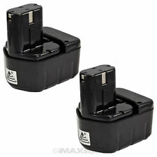 2 x 12V 2.0AH Ni-Cad Battery for Hitachi DS12DVF3 WH12DAF2 WH12DMR UB12D Drill
