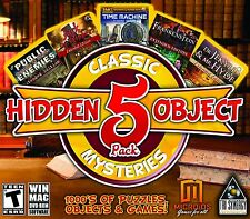 Hidden Object Classic Mysteries 5 Game Pack PC Windows 10 8 7 Vista XP Computer