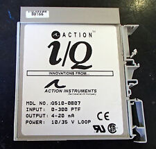 Action Instruments Q510 Two channel RTD Input Channel Q510-0B07 USED