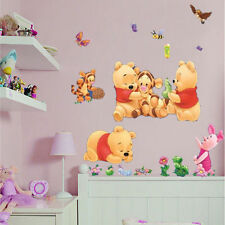 Winnie The Pooh Baby Kids Nursery Room Decal Wall Stickers Removable Art Decor