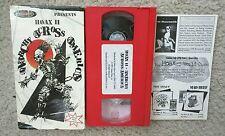 Hoax II Anarchy Across America Inline Skating Rollerblading Video VHS