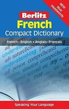 Berlitz Compact Dictionary Ser.: French Compact Dictionary : French-English...
