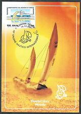 2000 ITALIA CARTOLINA SPECIALE GENOVA SALONE NAUTICO - ED