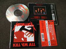 METALLICA / kill 'em all /JAPAN LTD CD OBI