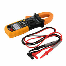 Digital Clamp Meter DC AC Volt AC Amp Ohm Tester MS2008A 2000 Counts LCD BG