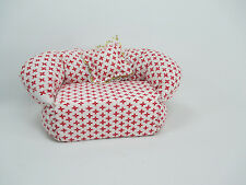 Blythe Barbie Miniature Handmade Furniture sofa couch chair dollhouse #15