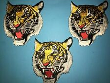 3 Lot Shotokan Tiger Karate Do MMA Martial Arts Uniform Gi Patches Crests 461