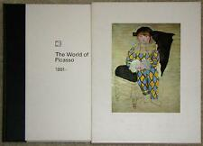 THE WORLD OF PICASSO: 1881- ~ XL PROFUSELY ILLUSTRATED ~ TIME LIFE BOOKS ~ HC