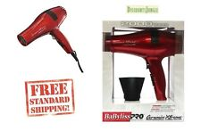 Babyliss PRO Ceramix Xtreme Ceramic Light Salon Hair Blow Dryer BABR5572 Red