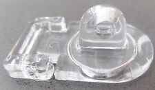 1 x Clear Acrylic Hasps Plastic Hasp & Staple 45x25x7mm. For Tanks, Displays