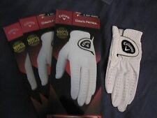 3 WOMENS SMALL FOR A LEFT HAND GOLFER CALLAWAY DAWN PATROL LEATHER GOLF GLOVES