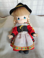 Precious moments Children of the world Gretchen Germany doll 9""