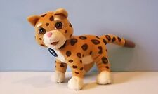 Talking Baby Jaguar - Go Diego Go - Plush Cat -Animal Rescuer -Fisher Price 2006