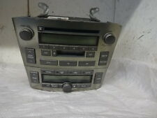 2005 2.0 VVTI T25 MK2 TOYOTA AVENSIS HEATER CONTROL PANEL CD AND CASSETE PLYAER