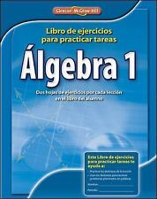Algebra 1, Spanish Homework Practice Workbook by McGraw-Hill Staff (2008,...