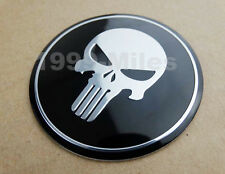 Motorcycle Skull Round Fuel Tank Fairing Decal Sticker Badge Emblem For  Harley