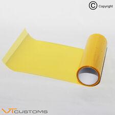 30 x 50 cm oro giallo faro tinta pellicola nebbia TAIL LIGHTS tinteggiatura Car Wrap