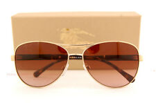 Brand New Burberry Sunglasses BE 3080 1145/13 Gold/Gradient Brown For Women