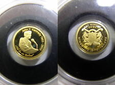 Bénin, 1500 francs 2013 pp, 50 J. Kennedy, plus petite pièce d'or, # 42