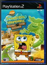 PS2 SpongeBob SquarePants Revenge Of The Flying Dutchman, New & Factory Sealed