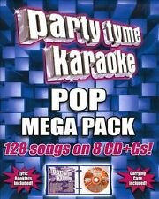 Party Tyme Karaoke: Pop Mega Pack [Box] by Sybersound (CD, May-2009, 8 Discs,...