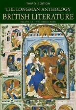 The Longman Anthology of British Literature, Volume 1A: The Middle Ages (Longman