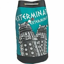 DOCTOR WHO Exterminate DALEK DUFFLE BAG Faux Leather RUCKSACK Shoes School Bag