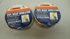 Lot of Two New Frost King  3 inch pipe wrap insulation