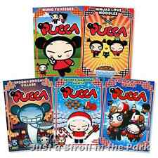 Disney's Pucca: Korean Animated TV Series 5 Piece Collection Box/DVD Set(s) NEW!
