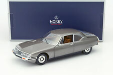 NOREV 1971 CITROEN SM SCARABEE BROWN METALLIC 1/18 DIECAST CAR MODEL 181583