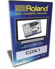 Roland CDX-1 DiscLab DVD Video Training Tutorial Help