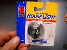 VTG LIFE LIKE TRAINS ALL PURPOSE HOUSE LIGHT PRE WIRED NEW IN PACKAGE 14 V AC/DC
