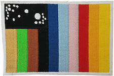 Space 1999 Alpha Moonbase IRC Flag Embroidered Patch Badge Sew/Iron-on 15.25cm
