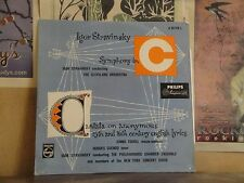 IGOR STRAVINSKY SYMPHONY IN C, JENNIE TOUREL CUENOD - HOLLAND LP A 01149 L