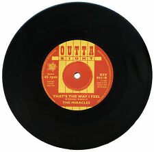 "MIRACLES  ""THAT'S THE WAY I FEEL""   KILLER EARLY MOTOWN / R&B   LISTEN!"