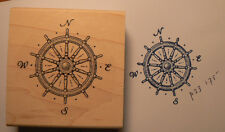 Compas Nautical rubber stamp WM P23