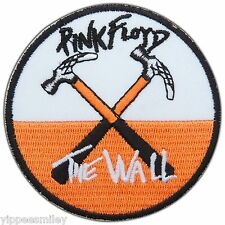 PINK FLOYD THE WALL HAMMERS Rock Band Embroidered Sew Iron-On Patches #M0068