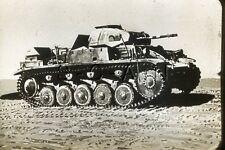 WWII US Recognition 35mm Slide Negative- Light Panzer Tank- Panzerkampfwagen II