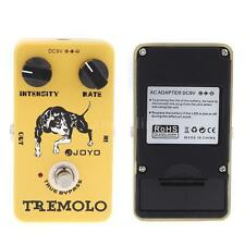 JOYO JF-09 Tremolo Guitar Effects Pedal STOMPBOX True Bypass-AL H5G7