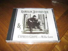 Ramblin Jeffrey Lee & Cypress Grove with Willie Love CD - Delta Blues GUN CLUB