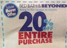 TWO Bed Bath & Beyond 20% Off In Store Entire Order ~~~INSTANT DELIVERY~~~