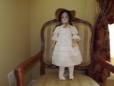 Germany Antique Queen Louise Doll Bisque Head Composition Body #100 24 in
