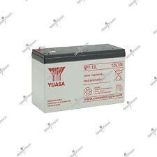 Batterie incendie et sécurité plomb étanche YUASA NP7-12L 12V 7AH 151X65X97.5