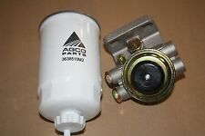 Bosch Type Diesel Primer Head (screw on) & Genuine Massey Ferguson Fuel Filter